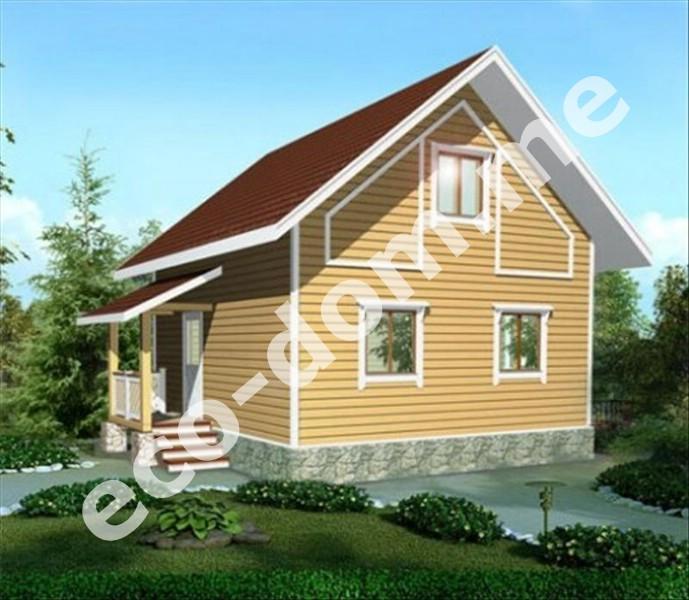 Дом из бруса под ключ в Алексине