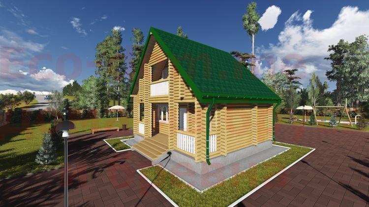 Дом из бруса под ключ в Переславле-Залесском
