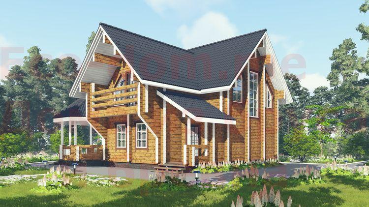 Дом из бруса под ключ в Иваново