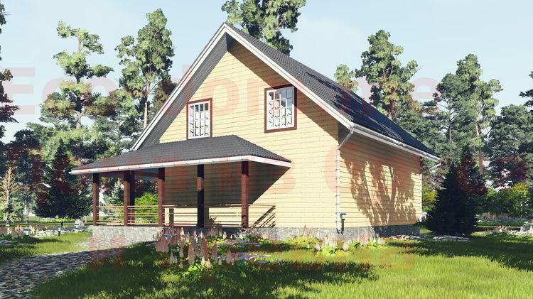Дом из бруса под ключ в Орехово-Зуево