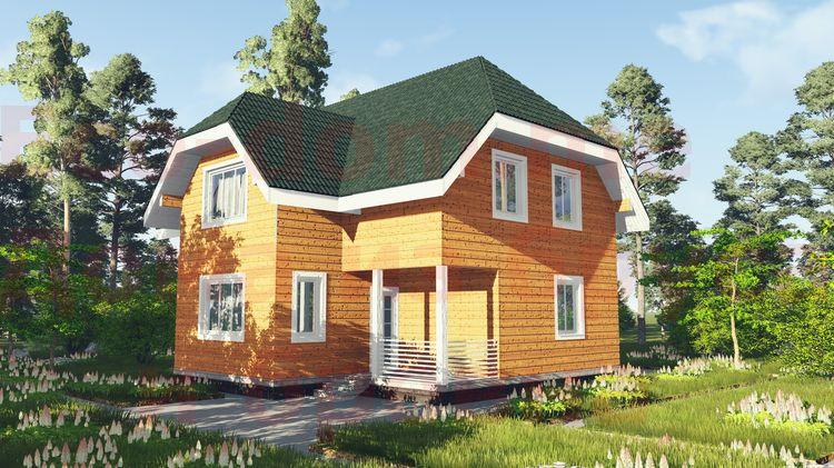 Дом из бруса под ключ в Подольске