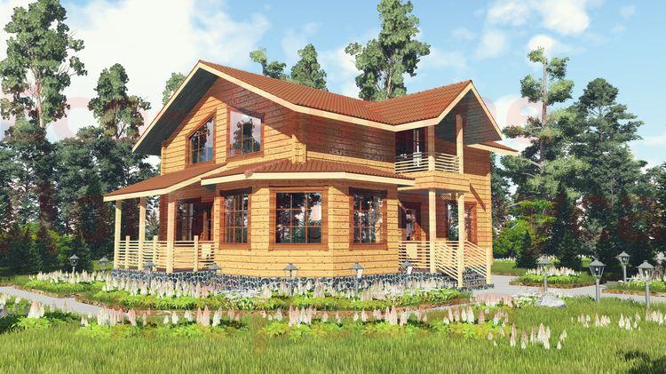 Дом из бруса под ключ в Нижнем Новгороде
