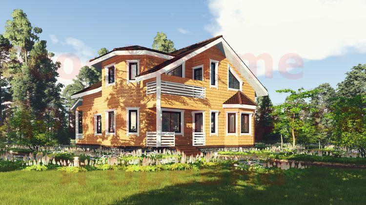 Дом из бруса под ключ в Дзержинске