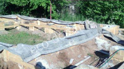 Заливка ленточного фундамента в Рыбинске