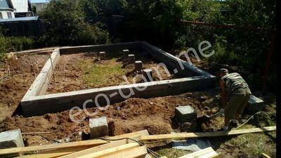 Заливка ленточного фундамента в Саранске