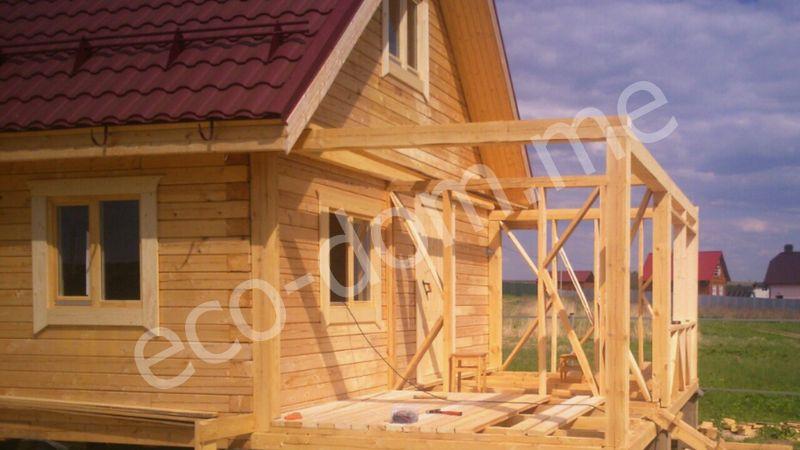 Строительство домов под усадку в Муроме