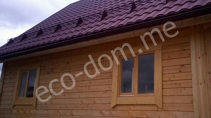 Строительство домов под усадку в Орехово-Зуево