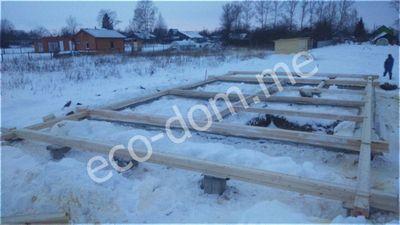 Заливка ленточного фундамента в Нижнем Новгороде