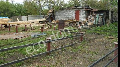 Фундамент на винтовых сваях в Егорьевске