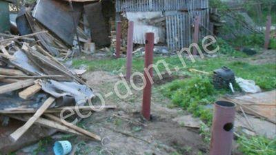 Фундамент на винтовых сваях в Иваново