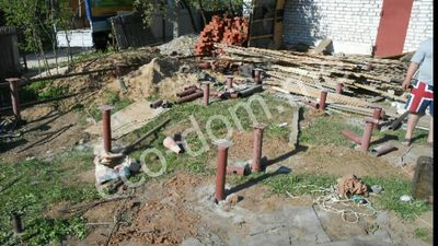 Фундамент на винтовых сваях в Калуге