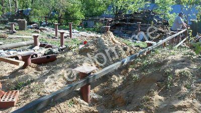 Фундамент на винтовых сваях в Наро-Фоминске