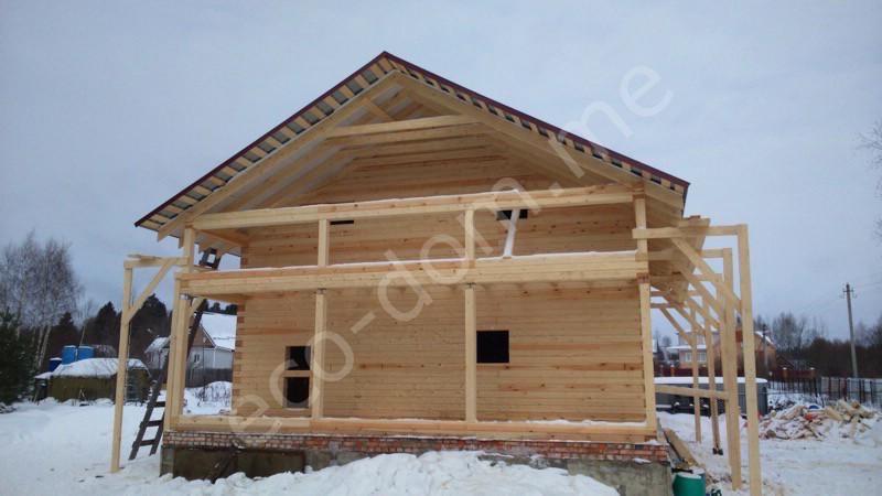 Дом из бревна под ключ в Костроме