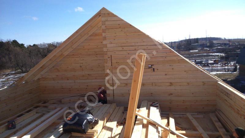 Дом из бревна под ключ в Туле