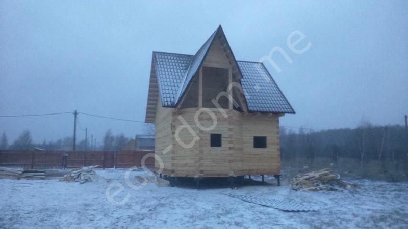 Дом из бревна под ключ во Владимире