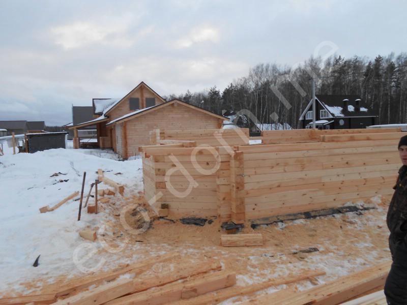 Дом из бруса под ключ в Великом Новгороде