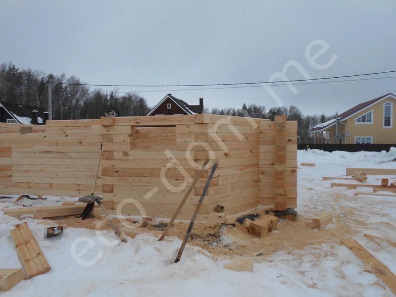 Дом из бревна под ключ в Смоленске